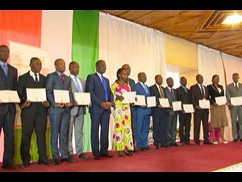 Côte d' Ivoire : Les meilleurs agents de la direction générale du trésor ont été recompensés
