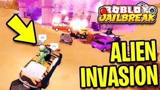 NEW Jailbreak ALIEN INVASION GAME MODE | Roblox Jailbreak New Update