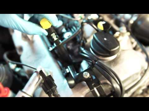 How to remove and replace a diesel common rail injector by