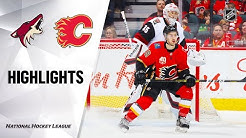NHL Highlights | Coyotes @ Flames 03/06/20