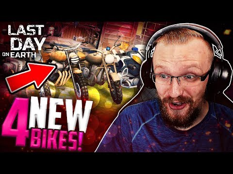 GARAGE OF MOTORBIKES?! (New Choppers) - Last Day on Earth: Survival