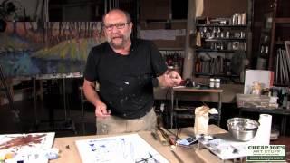 Andy Braitman Encaustics Painting Part 1