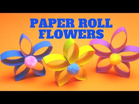 paper-roll-flowers-|-mothers-day-crafts-for-kids