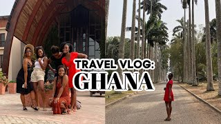 TRAVEL VLOG: GHANA | my FIRST time in AFRICA.