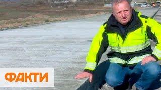 На Николаевщине строят бетонную дорогу: почему местные жители против
