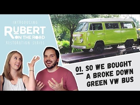 VW Bus Restoration | 1: We Bought a Broke Down Bus