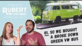 VW Bus Restoration | 1: We Bought a Broke Down Bus