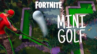 Come costruire un mini campo da golf funzionante a Fortnite Creative