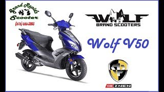 Grand Rapids Scooter Presents the WOLF V50