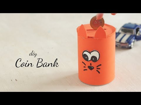 DIY Coin Bank |  Best Out of Waste |  Crafts for Kids