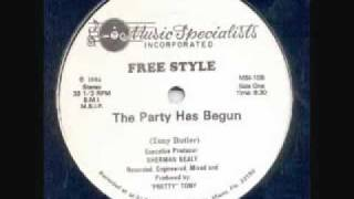 Freestyle - The Party Has Just  Begun (Inst.) (Music Specialists).flv