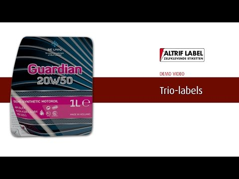 Trio label | Altrif Label