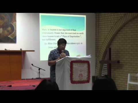 25May2015 El Shaddai Kuwait Chapter Monday Fellowship (Gawain) - Theme: APOLOGETICS (Part 6)
