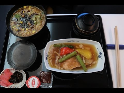 All Nippon Airways(ANA) Business Class Food Review