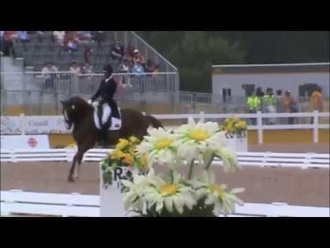 2015 Pan American Games - Freestyle - Julio Mendoza and Chardonnay
