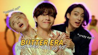 bts butter era has been wild so far