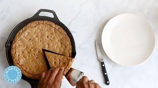 One-pot Wonders: One Giant, Skillet-made Cookie - Martha Stewart