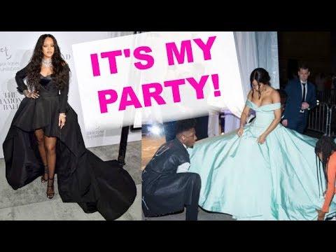 Cardi B STEALS THE SPOTLIGHT From Rihanna At Diamond Ball