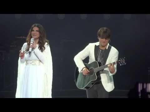 Laura Pausini Celeste E' a Lei Che Devo l'Amore Live San Siro Milano 05/06/2016