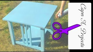 Make Attractive End Tables