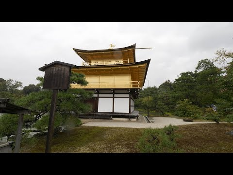 【4K】Walking in Kyoto - Kinkakuji