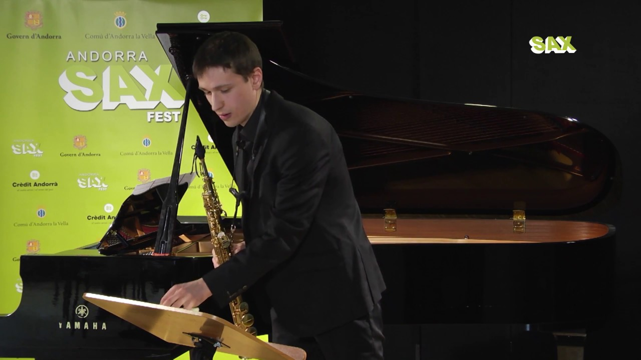 MALO LINTANF – 1st ROUND – V ANDORRA INTERNATIONAL SAXOPHONE COMPETITION 2018