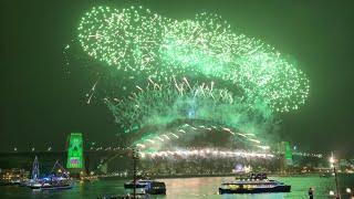Sydney New Year's Eve 2019 2020 Midnight Fireworks