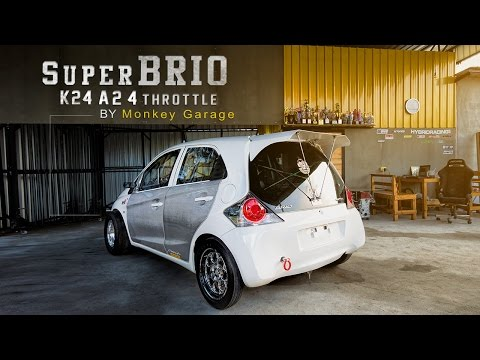 Honda Super Brio K24 ที่ถูกโมดิฟายมาแบบเต็มพิกัด จาก Monkey Garage By BoxzaRacing.com