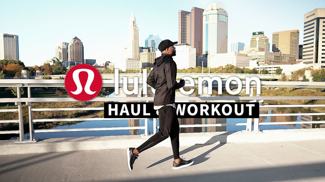 lululemon Men's Try-On Haul & Outdoor Workout