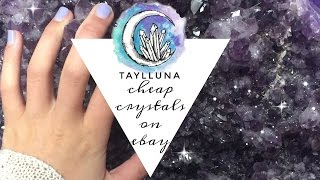 how to buy cheap crystals on ebay // Taylor Mariee