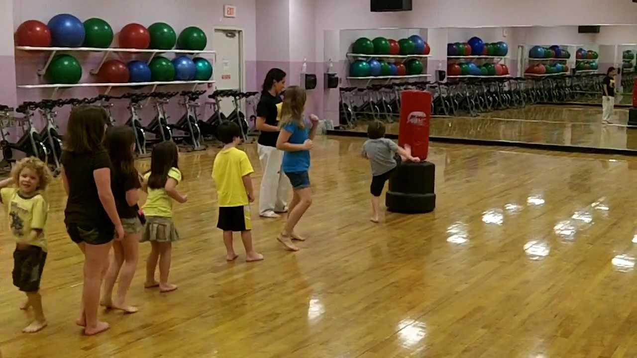 Youth Self Defense class DeVos-Blum Family YMCA