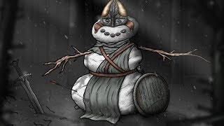 Skyrim: Winterhold Snowman (Merry Christmas 2017)