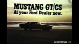 1967 Ford Mustang GT/CS - original commercial in color