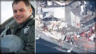 NAVY HERO SAVES 20 IN CRASH, THEN DOES SOMETHING EVEN MORE ASTONISHING