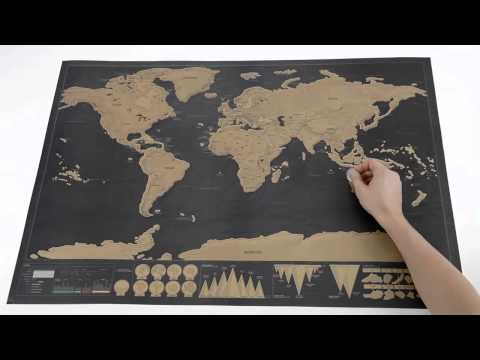 Scratch Map Deluxe from Luckies