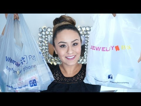 Walmart & The Jewelry Box Haul | 2017 |