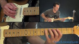 Shine On You Crazy Diamond Guitar Lesson (Part 4) - Pink Floyd