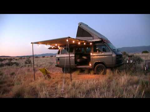Overlanding VW Camper Van Test Camping & Firebox Stove Easy Curry Chicken.