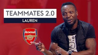 Why did Kolo Toure hack out Arsene Wenger?!? | Lauren | Arsenal Teammates 2.0 Gold
