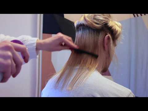 • ✼  ҉ Golden Haircut  ҉ ✼ • – Hair Cut – Spray Bottle •Combing • Head Scratching [no talking]