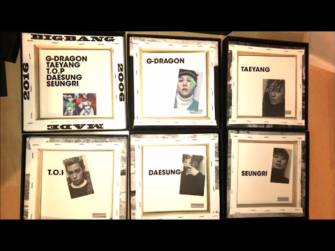 UNBOXING : BIGBANG MADE THE FULL ALBUM (ALL VERSIONS)