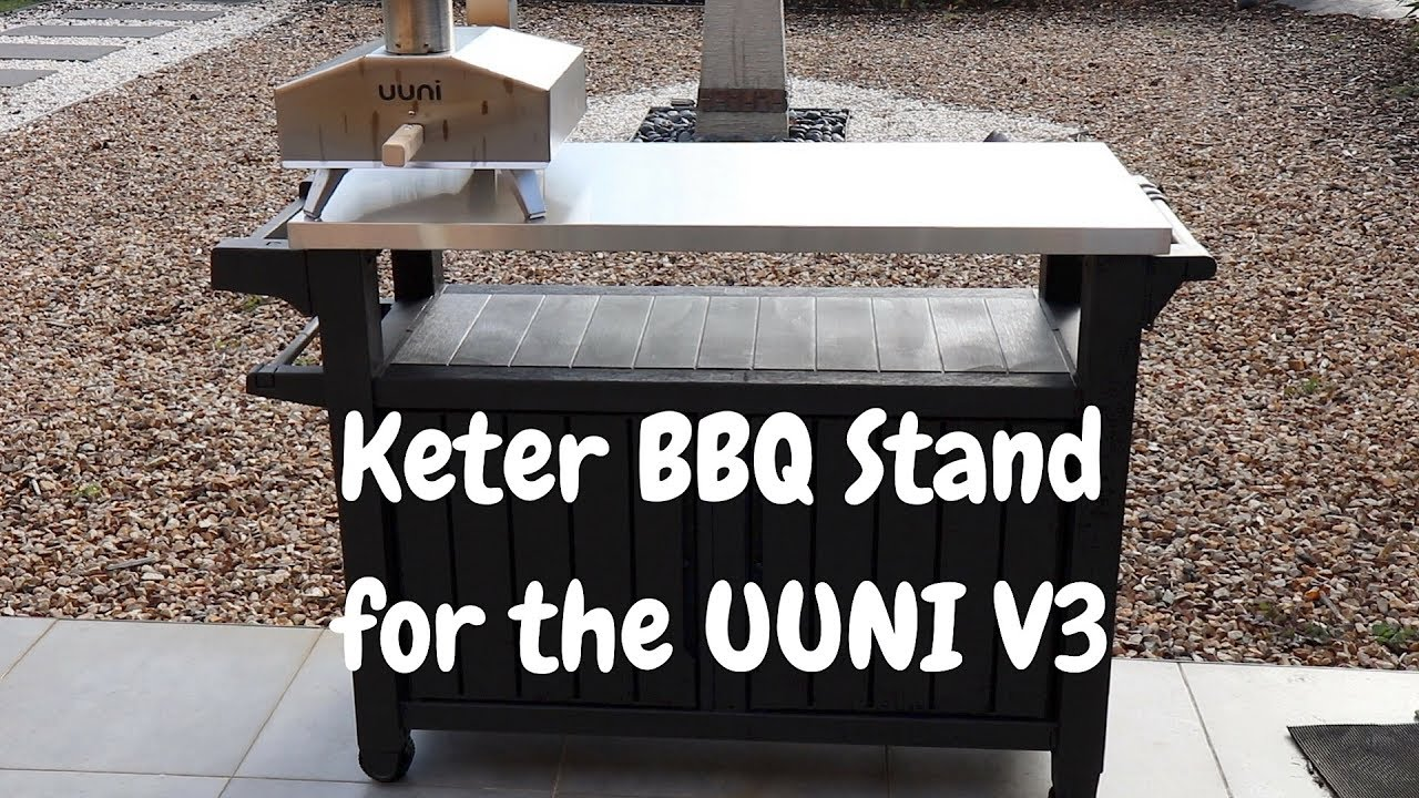 Pizzastand Oven Keter Bbq Station For The Uuni Ooni Pizza Oven Review