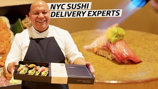 How an NYC Sushi Chef Prepares 300 Takeout Omakases — Omakase