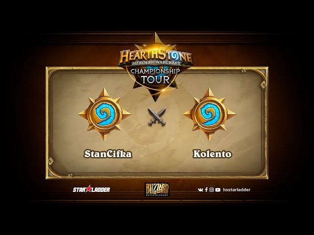 StanCifka vs Kolento | 2017 HCT EU Spring Season Playoffs (21.05.2017)