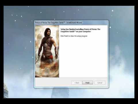 prince of persia the forgotten sands crack and how to solve black screen error