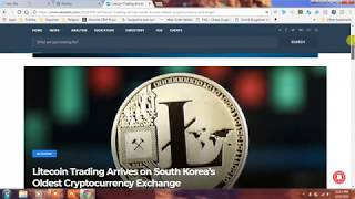 LITECOIN LISTED ON KORBIT!! IT IS BIGGER NEWS THAN MOST REALIZE. SOUTH KOREANS LOVE LITECOIN!!