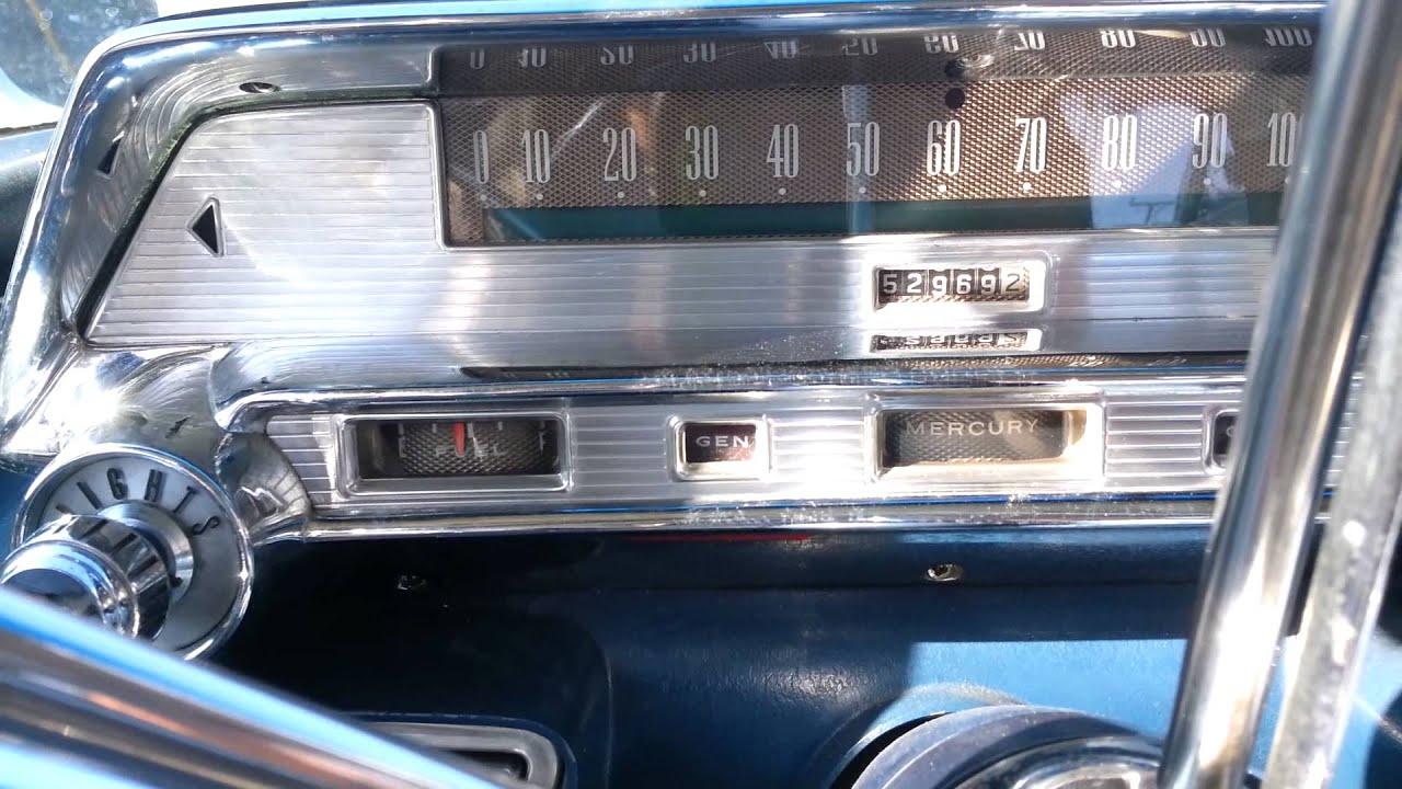 1958 Mercury Turnpike Cruiser drive around  YouTube