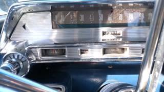 1958 Mercury Turnpike Cruiser, drive around