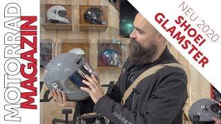 Shoei Glamster  Erste Anprobe des Retro Helms der Oberklasse in zeitloser Optik