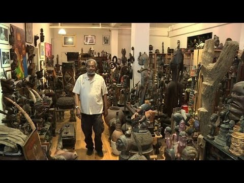 '$10 million' African art collection amassed in NY apartment